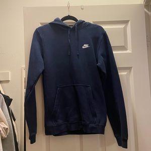 ❤️ cutest navy blue nike hoodie
